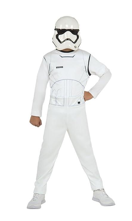 Star Wars - Disfraz de Stormtrooper para niños, infantil 7-8 años ...