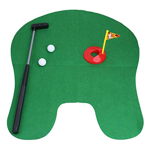 Toilet Golf, Mini Set Potty Putter Toilet Putti...