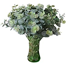 Hot Sale!!!Artificial Fake Leaf,Jushye Green Eucalyptus Leave Simulation Leaves Wedding Party Home Decor