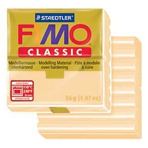 Pasta Fimo Classic 56gr Carne oscura (n°45)