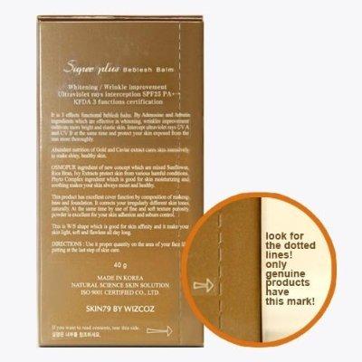 Skin79 Super+ Beblesh Balm Bb Cream VIP Gold (Gold Label) 40g