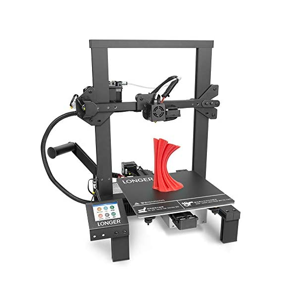 LONGER 3D Printer DIY Kit with Touch Screen, Resume Printing, Built-in Safety Power...