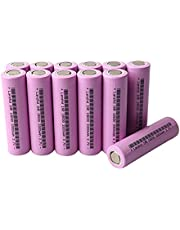ZHDZ Battery 18650 HG2 3000mAh with Strips soldered Batteries for Screwdrivers 30A high current-10pcs