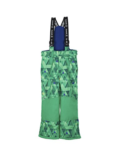 Kamik Winter Apparel Harper Freefall, Green/B. Blue, 10 by Kamik Winter Apparel