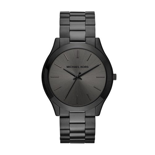 Michael Kors Men's Slim Runway Black Watch - Kors Michael Guys