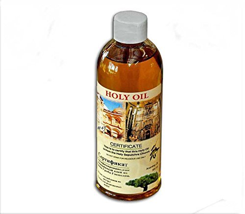 60ml holy land Anointing oil Certificated blessed small bottle from Jerusalem by Bethlehem Gifts (Church Oil)