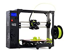 The LulzBot TAZ 6 features innovative self-leveling & self-cleaning, and a modular tool head design for flexible and multi-material upgrades. With proven technology & one of the largest print volumes in its class, the LulzBot TAZ 6 is...