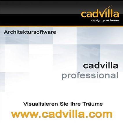 Cadvilla Professional Architektur 2d 3d Cad Software Programm