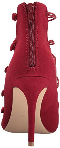 Nine West Women's Netira Fabric Pump Red/Red Fabric KVbMyI