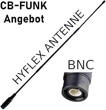 HyFlex CB - Antena de Radio (27 MHz, BNC): Amazon.es: Electrónica