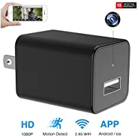 Wifi Surveillance Hidden Camera 1080P Motion Detect Alert Message Wall Camera Real Remote View For IOS and Andriod