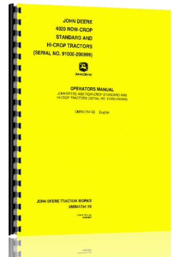 John Deere Tractor Data - 3