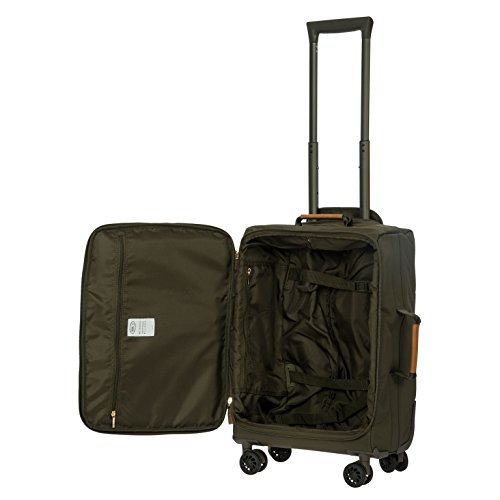 Bric's X-Travel 4 Piece Set | 21'', 25'', Metro Backpack, Travel Pillow (Olive) by Bric's (Image #2)