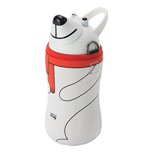 THERMO MUG (Samomagu) Samomagu Animal bottle White (Polar Bear) 5155AM by THERMO MUG (Samomagu)