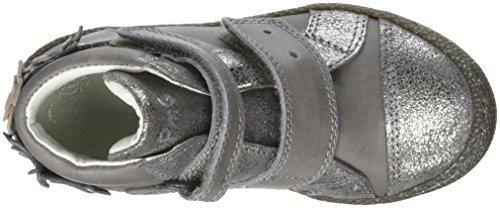 Primigi Ptf 8138, Zapatillas Altas Para Niñas Gris (Antracite/fumo)