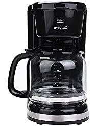 Xshuai Haier Velocity Brew Self Brew Timer Home Coffee Brewer , Black (12-cup)