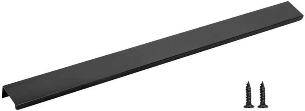 Tirare le linguette per larmadio da cucina Frolahouse 8 maniglie per porte scorrevoli in alluminio Maniglia invisibile semplice moderna Tirare il bordo delle dita