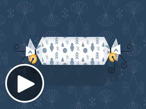 Holiday Cracker - Animated eGift Card