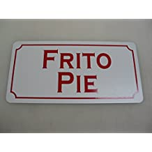 FRITO PIE Metal Sign for Food & Beverage Truck Concession Trailer Menu