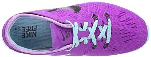 Nike Free TR 5.0 Fit 5, Scarpe Fitness Donna Multicolore ( Mehrfarbig (Vivid Purple/Black-fchs Glw-cp 500))