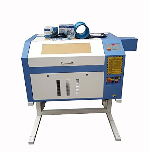 kohstar Cheap price 50/60/80/90W power CO2 laser engraver machine engraving cutting 4060 6040 with reddot position system high precision
