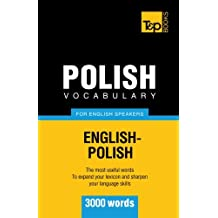 Polish vocabulary for English speakers - 3000 words