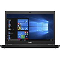 Dell Latitude E5480 14 HDF Intel Core i5-7200U, 8GB RAM, 256GB SSD, Black Windows 10 Professional (Certified Refurbished)
