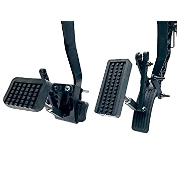 Able Motion Mobility PX2.0 Black Pedal Enhancement Extenders Body