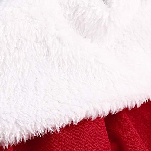 Homebaby Da Swing Donna Alta Vita Blu Di Gonne Natale Mini Festa Babbo Lungo Vintage Ragazze Eleganti Vestito line Sera Abito A Tutu Regalo Principessa A Yf76gIymbv