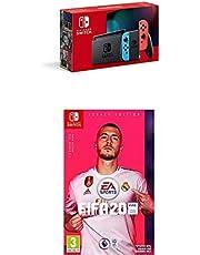 Nintendo Switch Neon & FIFA 20