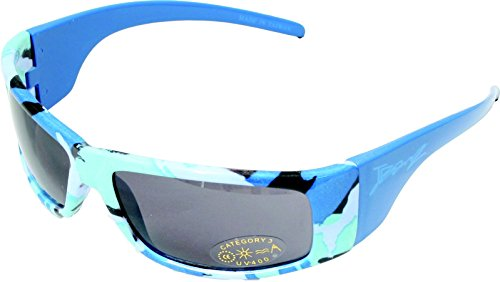 Baby Banz Boys 2-7 Replaceable Lenses Sunglasses, Nordic Camo