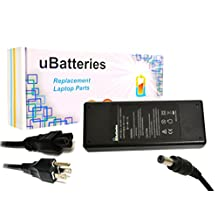 UBatteries AC Adapter Charger Toshiba Satellite P205-S6337 - 19V, 90W