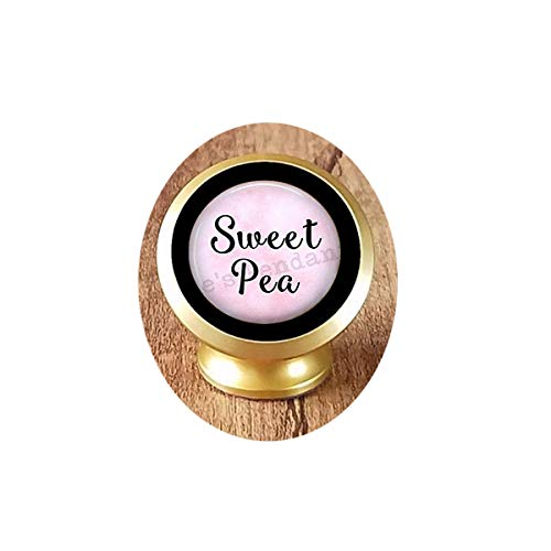 (asd Weet Pea -Sweet Pea Jewelry -Gift for Girlfriend- Gift for Daughter -Flower Name Jewelry- Sweetpea Magnetic Car Phone Mount Holder)