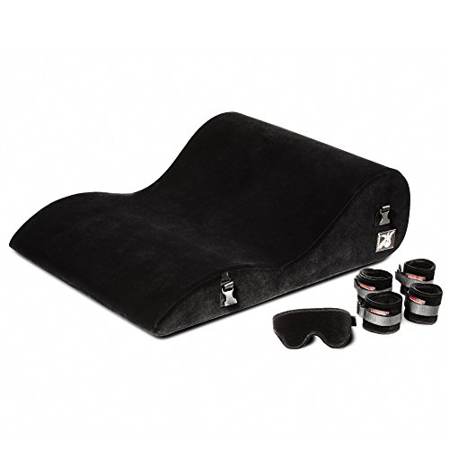 Liberator Black Label Hipster With Cuff Kit, Black Microfiber by Liberator