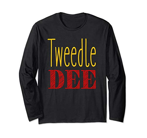 Tweedle Dee T-Shirt Halloween Costume -
