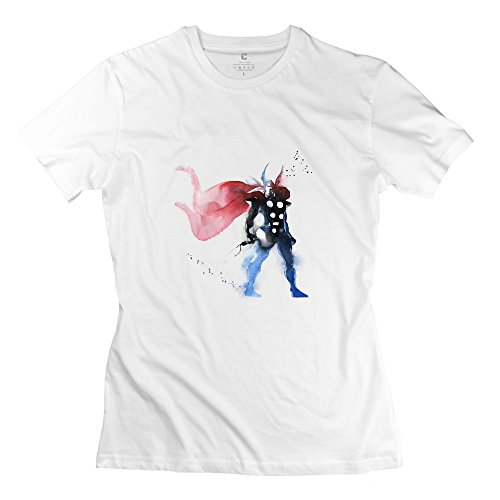 BOAIS Men's Marvel Comics Marvel's The Avengers Thor Odinson 100% Cotton T-shirt