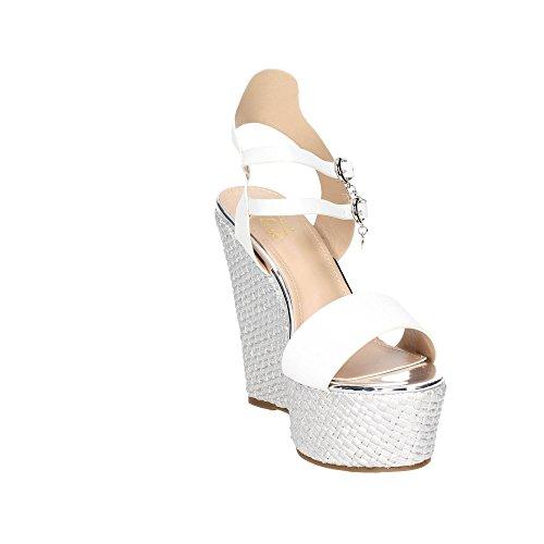 Braccialini 8670-61 Sandal Damen Weiß
