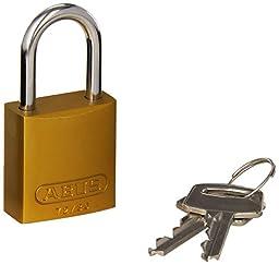 Brady 133291 Keyed Padlock, Alike Key, Aluminum (Pack of 6)
