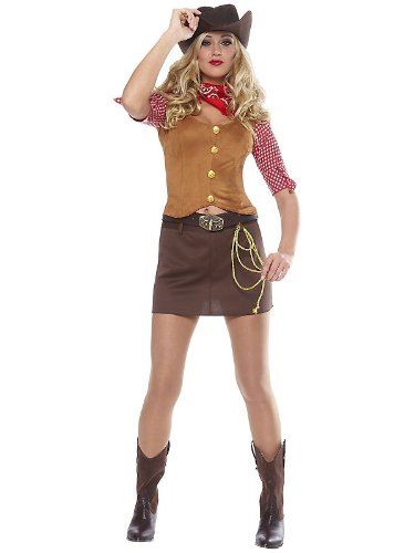 Gunslinger Women's Sexy Cowgirl Costume - Gunslinger Girl Costume