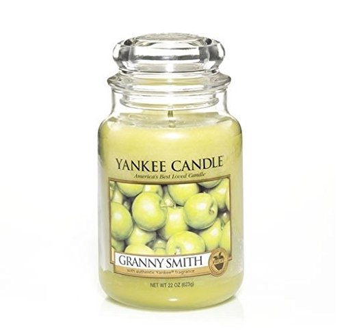 "Yankee Candle Granny Smith - 22 Oz Large Jar "" Green Apple Scented """
