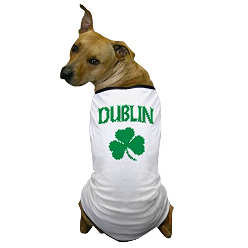 [CafePress - Dublin Irish Shamrock Dog T-Shirt - Dog T-Shirt, Pet Clothing, Funny Dog Costume] (Costume Rings Dublin)