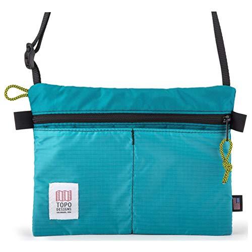 Topo Designs Accessory Shoulder Bag (Turquoise ...)