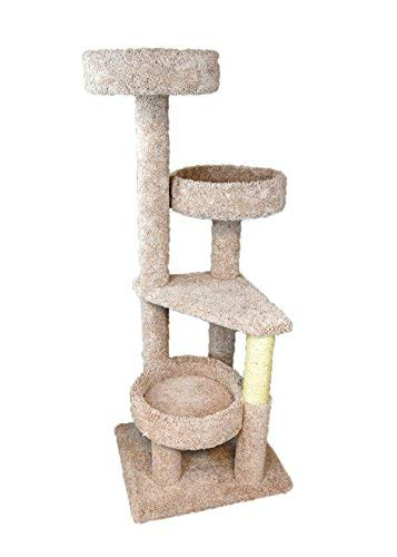 New Cat Condos 4 Level Cat Lounger, Neutral