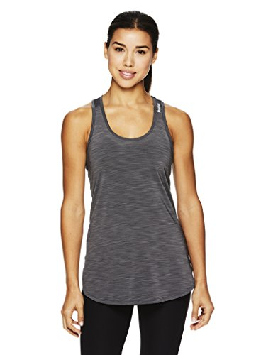 Reebok Women's Legend Performance Singlet Racerback Tank Top- Slub Medium Grey/Grey, - Singlet Women Running