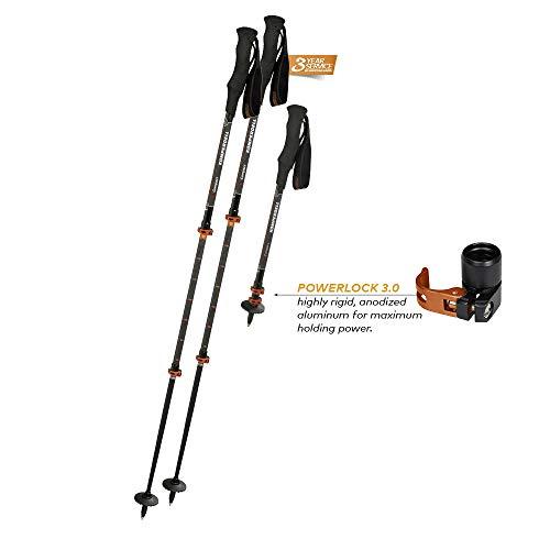 Komperdell C3 Carbon Powerlock Compact (Komperdell Ski Poles Carbon)