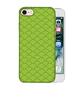 ColorKing Apple iPhone 8 Case Shell Cover - Waves Multi Color
