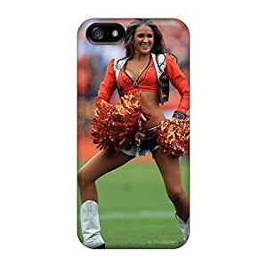 Hot New Denver Broncos Cheerleader Patricia Case Cover For Iphone 5/5s With Perfect Design