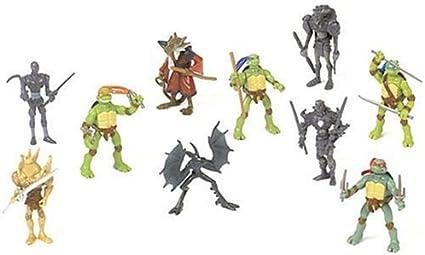 Amazon.com: Teenage Mutant Ninja Turtles Movie Mini Figure ...