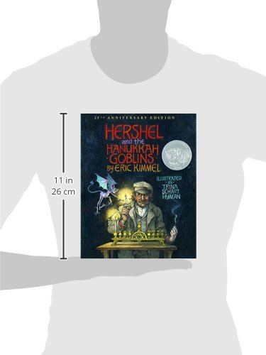 Hershel and the Hanukkah Goblins: 25th Anniversary Edition by Holiday House (Image #2)