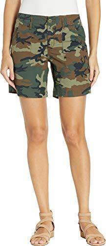 - Sanctuary Women's Explorer Patch Pocket Shorts Love Camo 28 7